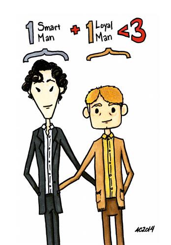 One Plus One, a Sherlock parody by Amy Crook