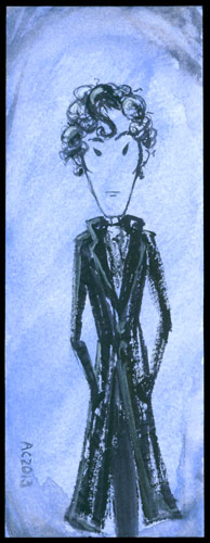 Sherlock Bookmark 8 by Amy Crook