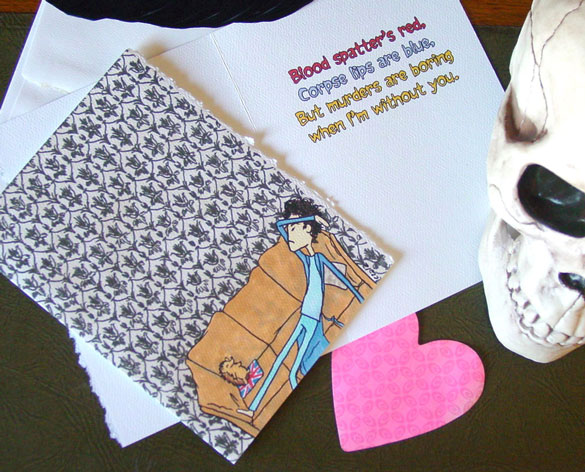 Boring Without You, a Sherlock parody Valentine by Amy Crook