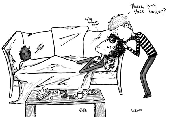 The Death of Me, 2 of 6, a Sherlock comic by Amy Crook