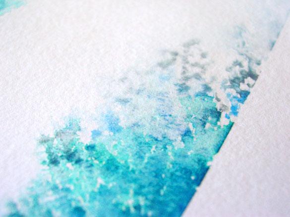 Splash 2, detail, by Amy Crook