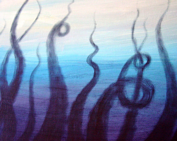 Tentacle Deeps 40, detail, by Amy Crook