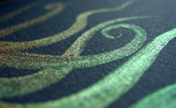 Tentacle Deeps 45, detail, by Amy Crook