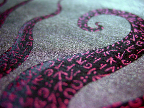 Tentacle Deeps 46, detail, by Amy Crook