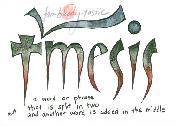 Temsis, word art by Amy Crook