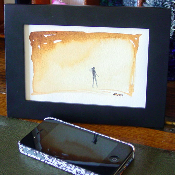 Traverse, framed art by Amy Crook