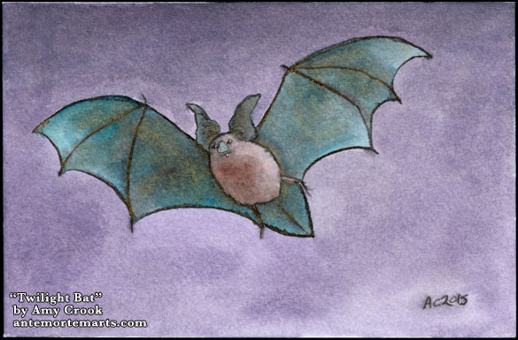 Twilight Bat by Amy Crook