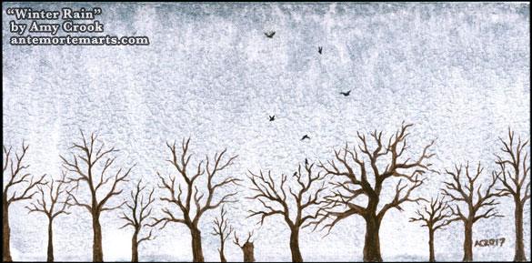 Winter Rain by Amy Crook