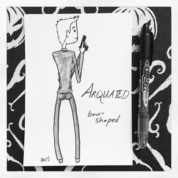 Word 12: Arquated