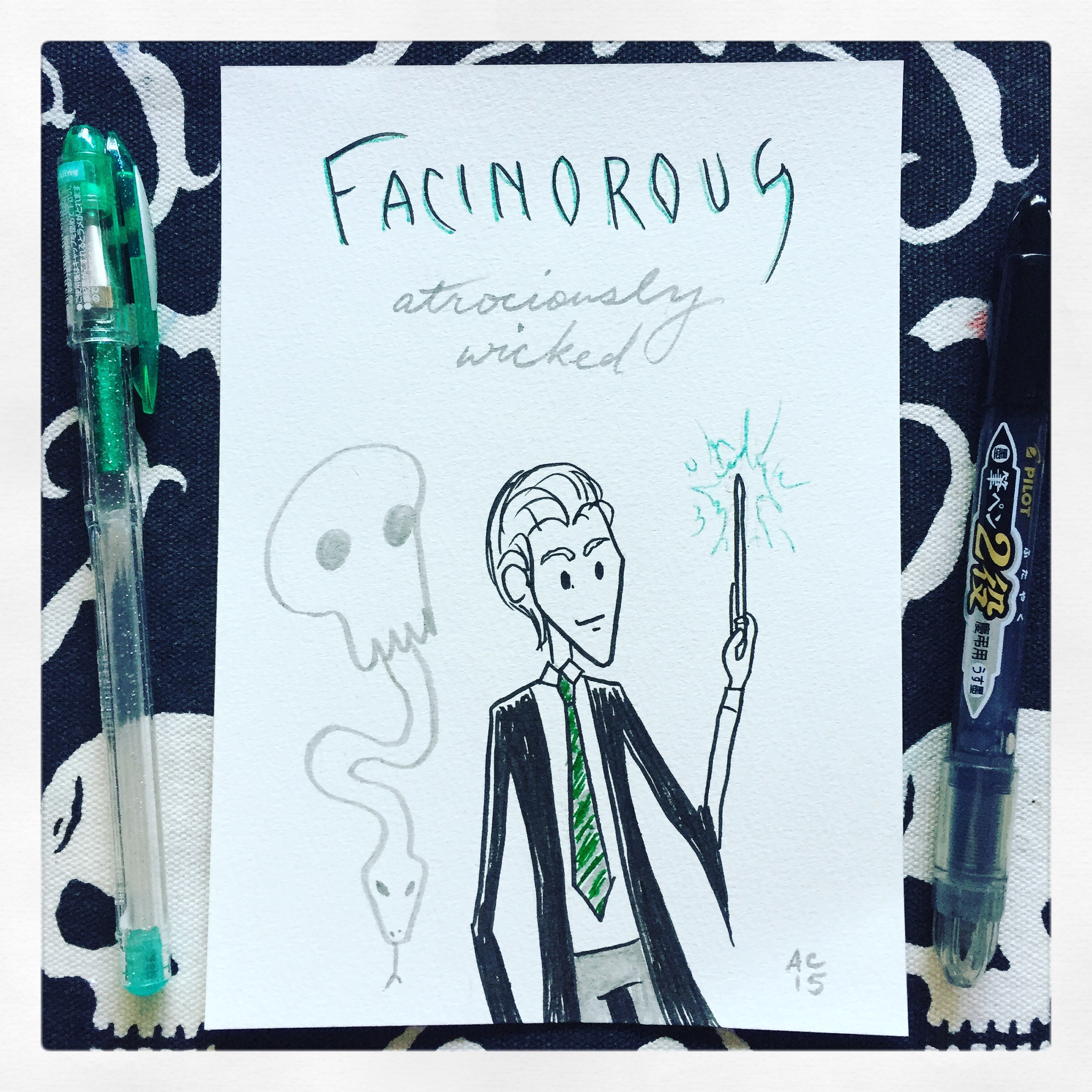 Word 13: Facinorous