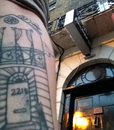 Tattoos go to London!