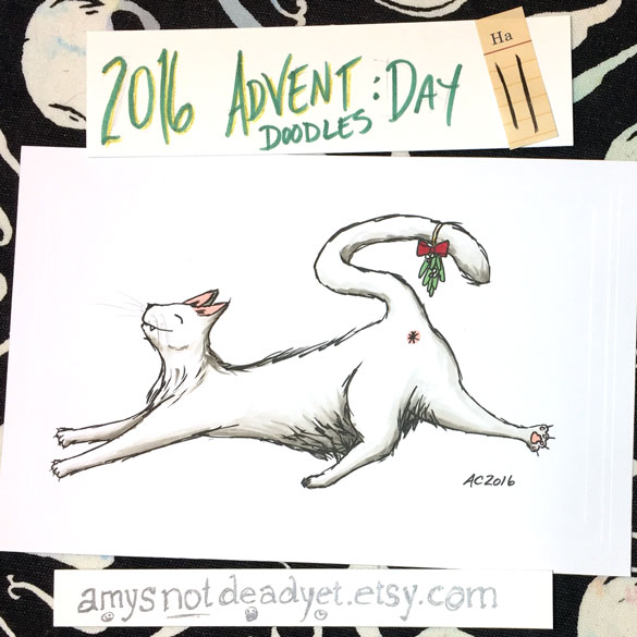 Advent 2016 day 11: Kiss my Cat