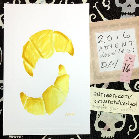 Advent 2016 day 16: Croissants