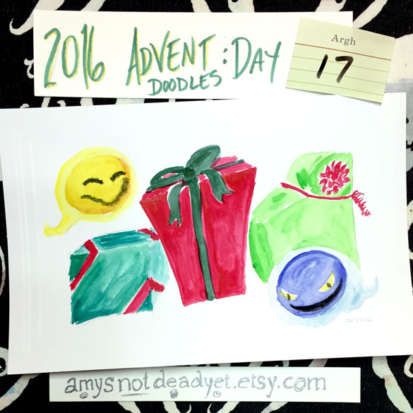 Advent 2016 day 17: Ghost Gifts