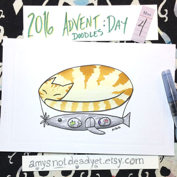 Advent 2016 day 4: December Airship