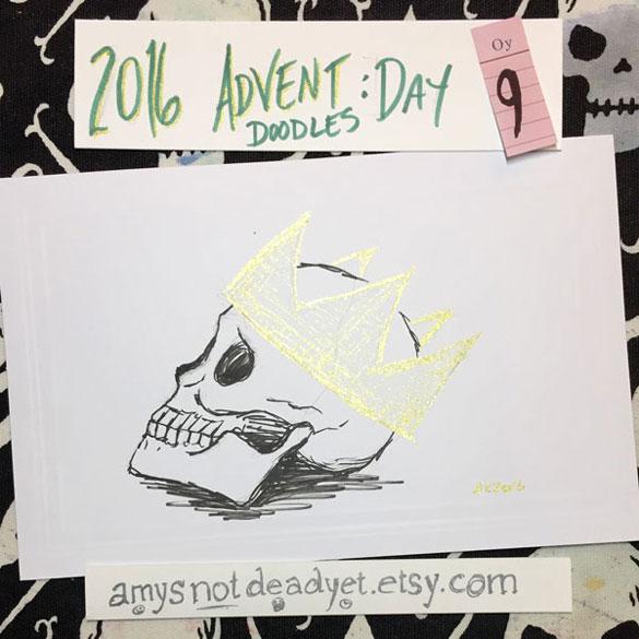 Advent 2016 day 9: Sherrinford the Skull