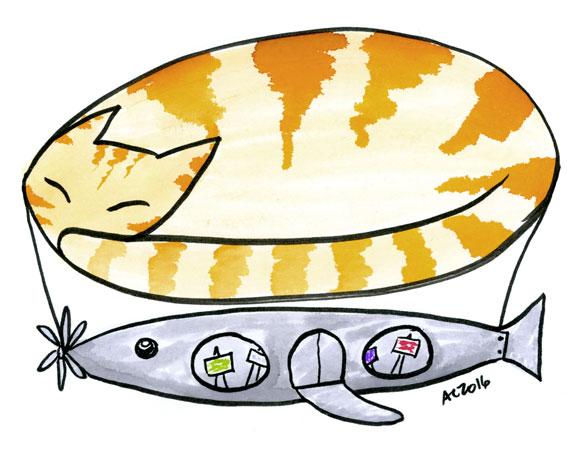 Airship illustration