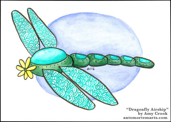 Dragonfly Airship by Amy Crook