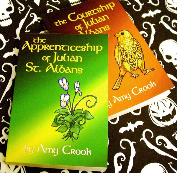 Two! Two novels self-published! Ah-ah-ah-ahhh!