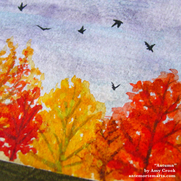 Autumn, detail, by Amy Crook