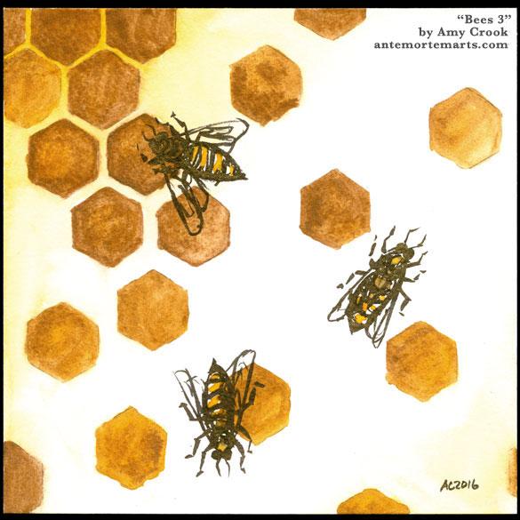 Bees 3 by Amy Crook
