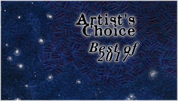 Artist's Choice: Best of 2017 from Amy Crook