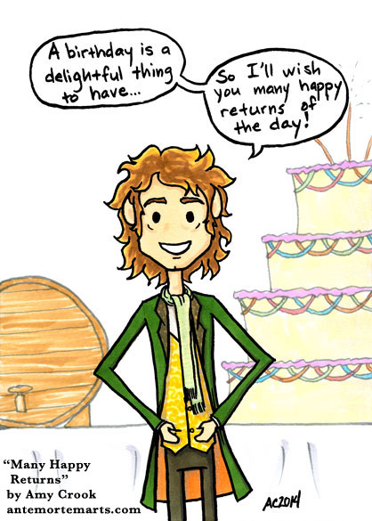Many Happy Returns by Amy Crook