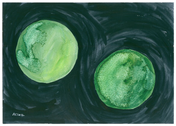 Binary Green by Amy Crook