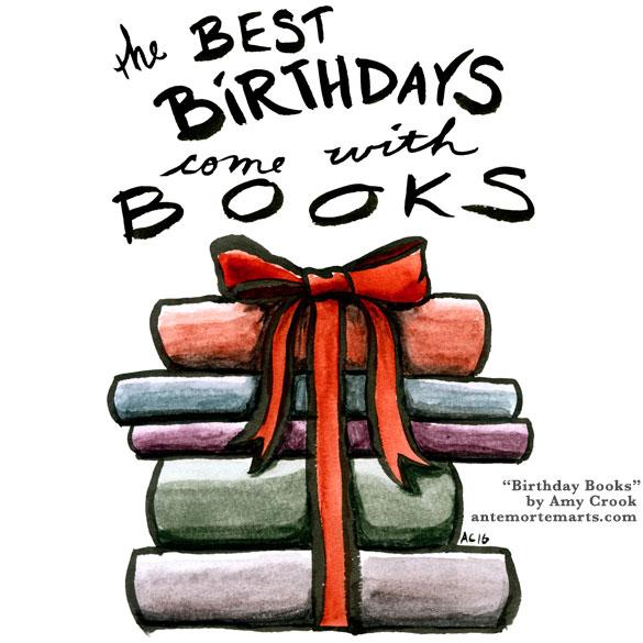 Birthday Books by Amy Crook