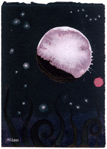 Blood Moon 5 by Amy Crook