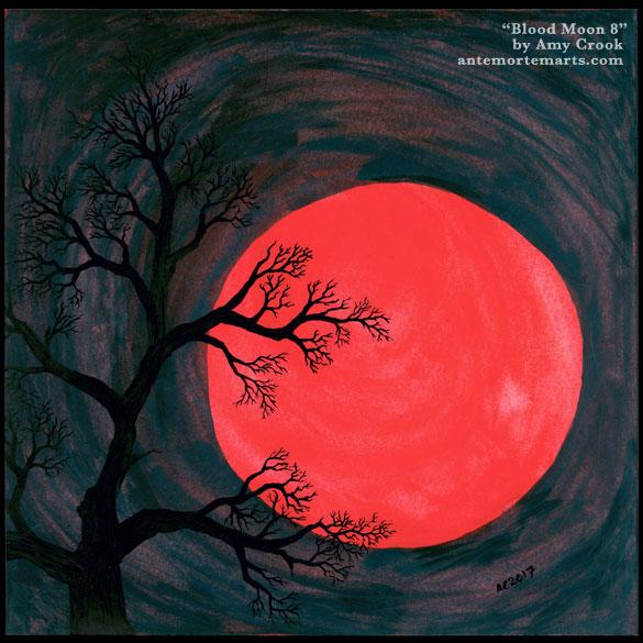 Blood Moon 8, original art by Amy Crook