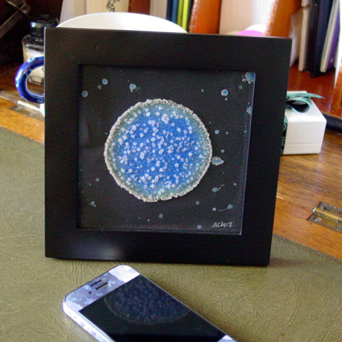 Blue Planet 2, framed art by Amy Crook