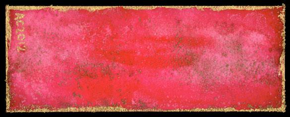 Bordello Red Bookmark by Amy Crook