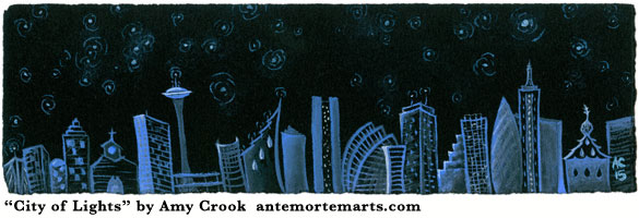 City of Lights by Amy Crook