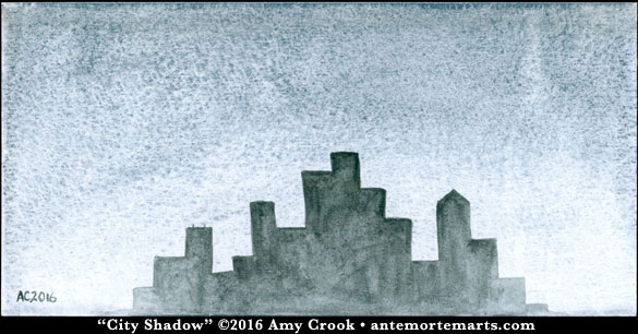 City Shadow by Amy Crook