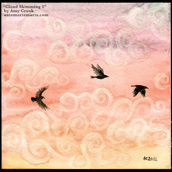 Cloud Skimming 2 by Amy Crook