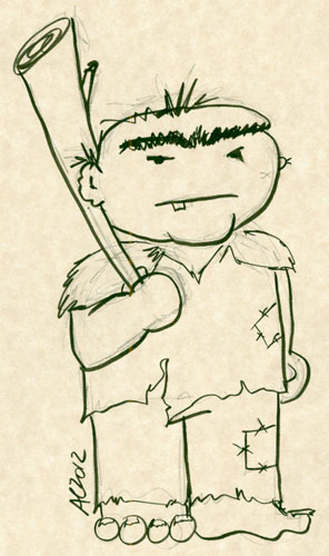 Ogre sketch by Amy Crook