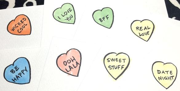 Conversation Heart art prompts