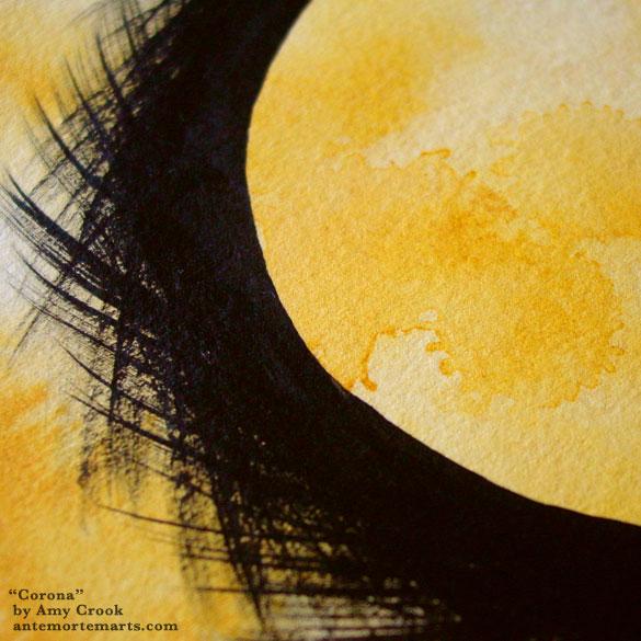 Corona, detail, by Amy Crook