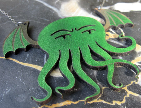Cthulhu Necklace, collaboration with Shannon Henry