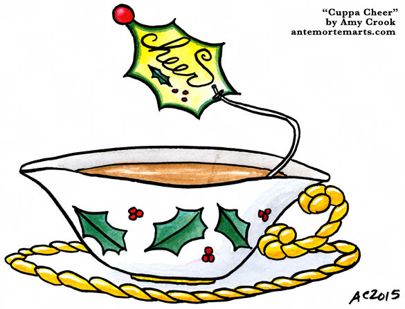 Cuppa Cheer by Amy Crook