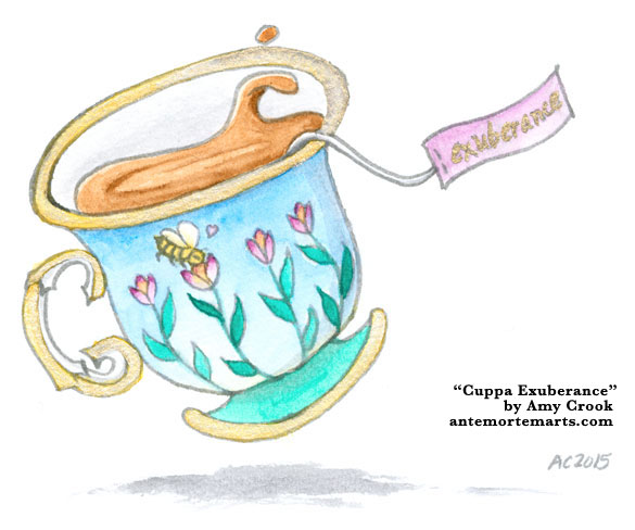 Cuppa Exuberance by Amy Crook