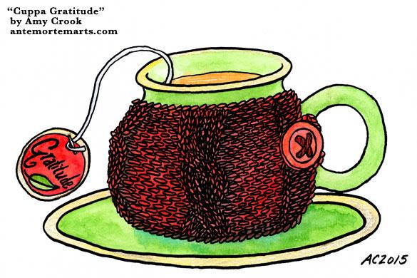 Cuppa Gratitude by Amy Crook