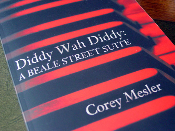 Diddy Wah Diddy by Corey Mesler, with interior illustrations by Amy Crook