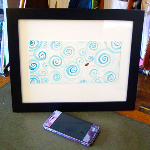Dirigible, framed, by Amy Crook