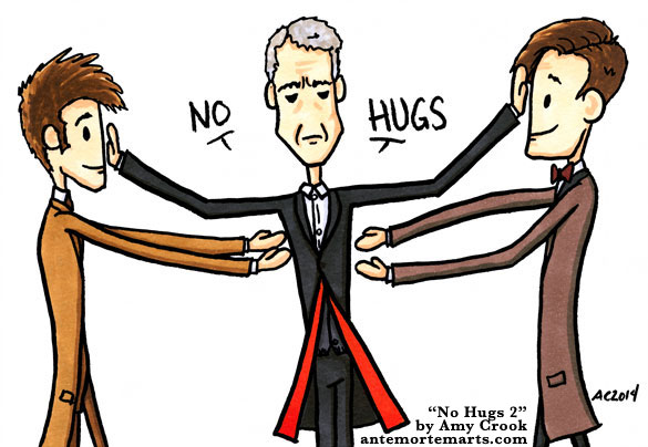 No Hugs 2, a Doctor Who comic by Amy Crook
