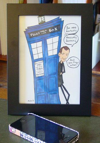 Fantastic, framed art by Amy Crook