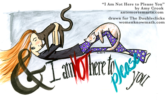 I Am Not Here to Please You by Amy Crook for The Doubleclicks video