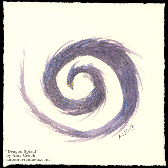 Dragon Spiral by Amy Crook