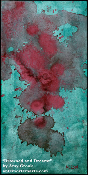 Drowned and Dreamt, abstract art by Amy Crook